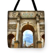 Victory Gate Tote Bag