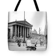 Vienna Austria - Parliament Building - C 1926 Tote Bag