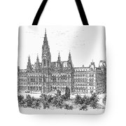 Vienna: City Hall, 1889 Tote Bag
