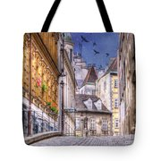 Vienna Cobblestone Alleys And Forgotten Streets Tote Bag