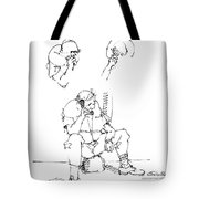 Vietnam War Art-6 Tote Bag