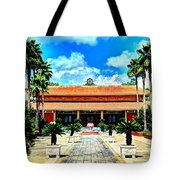Vietnamese Buddhist Temple Tote Bag