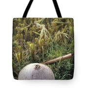 Vietnamese Conical Hat And Rice Cutting Tote Bag