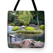 View Across The Pond Tote Bag
