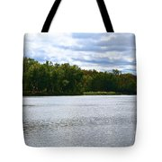 View Across The River Tote Bag