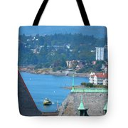 View From A Window Tote Bag