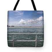 View From Across The Bay Tote Bag