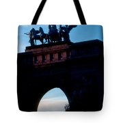 View From Brooklyns Grand Army Plaza Tote Bag