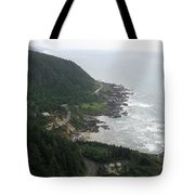 View From Cape Perpetua 2 Tote Bag
