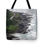 View From Cape Perpetua Tote Bag