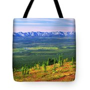 View From Ogilvie Ridge Lookout Tote Bag