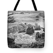 View From Rock Of Dunamase Tote Bag