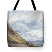 View From Skiddaw Over Derwentwater  Tote Bag