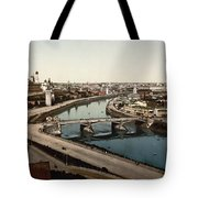 view from St Saviours - Moscow - Russia Tote Bag