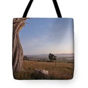 View From Table Bluff Tote Bag