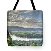 View From The Abby Tote Bag
