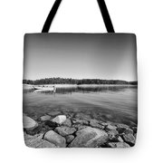 View From The Boat Ramp Tote Bag