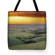 View From The Cypress Hills Tote Bag