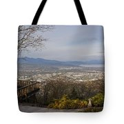 View From The Home On Top Of The Hill Tote Bag
