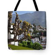 View From The Parador Nerja Tote Bag