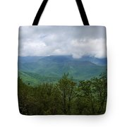 View From The Parkway Tote Bag