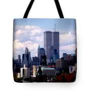 View From The Soldiers And Sailors Arch Brooklyn Tote Bag