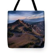 View From The Watchman Tote Bag