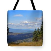 View From Top Of Cannon Mountain Tote Bag