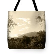 View In The Valley Tote Bag