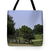 View Of Appomattox Courthouse 2 Tote Bag by Teresa Mucha