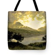 View Of Ben Bulben Tote Bag