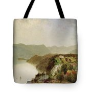 View Of Cozzen's Hotel Near West Point Ny Tote Bag