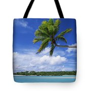 View Of Deserted Beach From Tapuae Tai Tote Bag