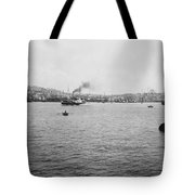 View Of Galata And Istanbul - Between 1880-1893 Tote Bag