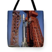 View Of Launch Pad 14 During Prelaunch Tote Bag