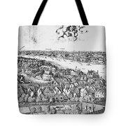 View Of London, 1647 Tote Bag