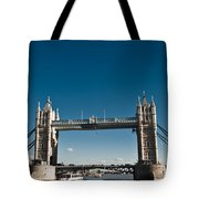 View Of London Bridge From The Thames Tote Bag