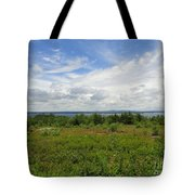 View Of Maine Bay Tote Bag