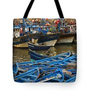 View Of Skala Du Port Tote Bag
