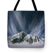 View Of The Combatant Col Tote Bag