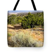 View Of The Desert New Mexico Tote Bag