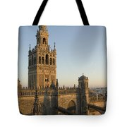 View Of The Giralda Tower Tote Bag