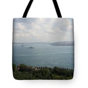 View Of The Marmara Sea - Istanbul Tote Bag