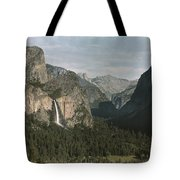 View Of The Mountain El Capitan Tote Bag
