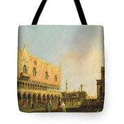 View Of The Piazzetta San Marco Looking South Tote Bag