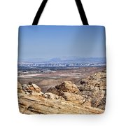 View Of Vegas Tote Bag