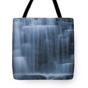 View Of Water Cascading Tote Bag