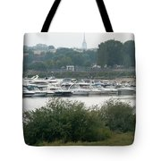 View On River Tote Bag