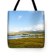 View Over Loch Ba Tote Bag
