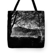 View Through The Trees Tote Bag